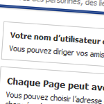 Personnaliser l'url de votre page Facebook